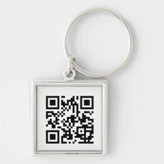 Custom QR Code Keychain