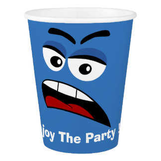 Custom quote party paper cup