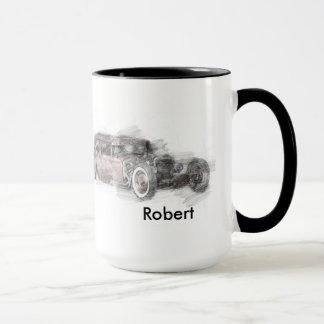 Custom Rat Rod Mug
