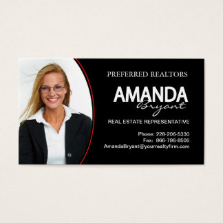 Custom Real Estate Business Card
