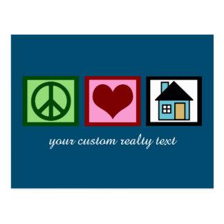Custom Real Estate Company Christmas Postcard