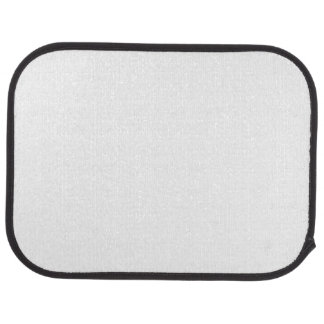 Custom Rear Car Mats (set of 2) Car Carpet
