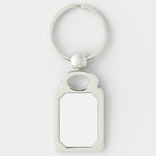 Custom Rectangle Keychain