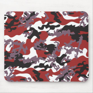 Custom Red Camo Mousepad
