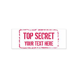 Custom red ink TOP SECRET confidential logo Self-inking Stamp