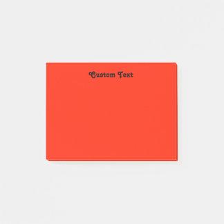 Custom red/Orange Post-it Notes
