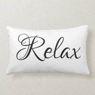 "Custom, ""Relax"" Lumbar Pillow"