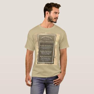Custom Retirement Message Sign Vintage Look T-Shirt