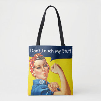 Custom Rosie we can do it Tote Bag