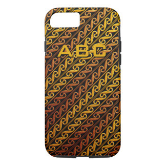 "Custom Running ""S"" Pattern iPhone Case"