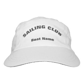 Custom Sailing Club Cap