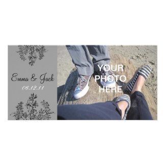 Custom Save the Date Photo Card Template