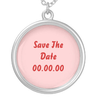 Custom, Save The Date. Red and Pink Jewelry