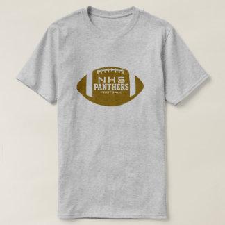 Custom School Football Tee Shirts