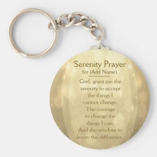 Custom Serenity Prayer Keychain
