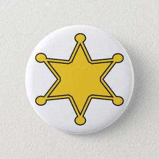 Custom Sheriff Badge - Design Your Own 2 Inch Round Button