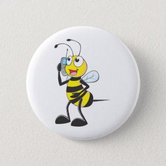 Custom Shirts : Bee Talking Calling Shirts 2 Inch Round Button