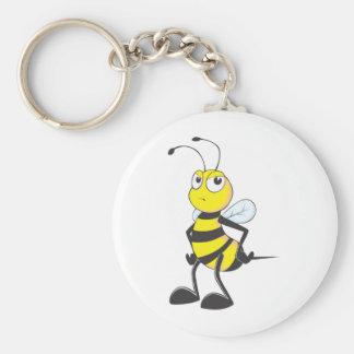 Custom Shirts : Moody Mad Bee Shirts Keychain