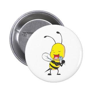 Custom Shirts : Singing Bee Shirts 2 Inch Round Button