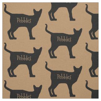 Custom Siamese Cat Fabric