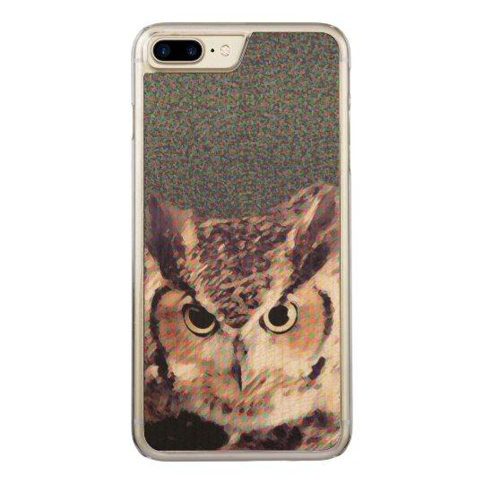 Custom Slim Maple Apple iPhone 7 Plus Case - Owl