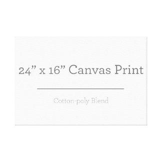 Custom Small Canvas Print
