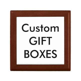Custom SMALL GOLDEN OAK Gift Box Blank Template