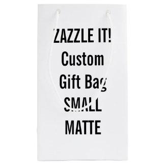 Custom SMALL MATTE Gift Bag Blank Template Small Gift Bag