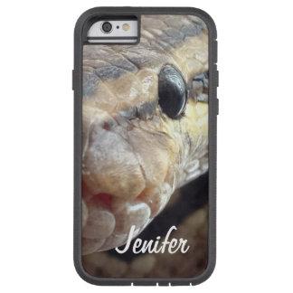 Custom snake close up eyes tough xtreme iPhone 6 case