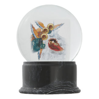 Custom Snowglobe with Nativity Christmas Icon