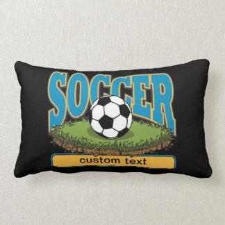 Custom Soccer Lumbar Pillow