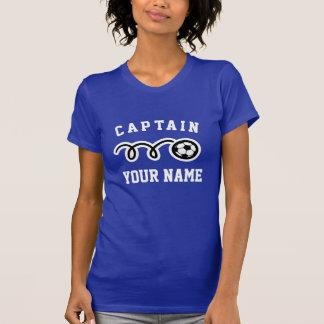 Custom soccer team captain t shirt for women