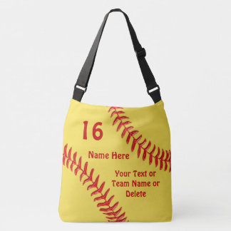 Custom Softball Bags with Your Text and Colors