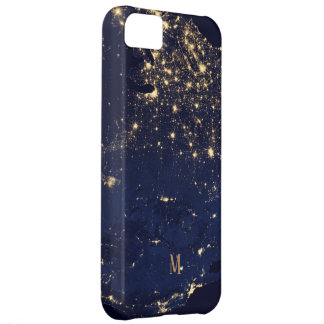Custom Sparkling Starts beautiful fashion style Cover For iPhone 5C