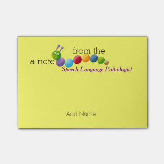 Custom Speech-Language Pathologist Post-it® Notes
