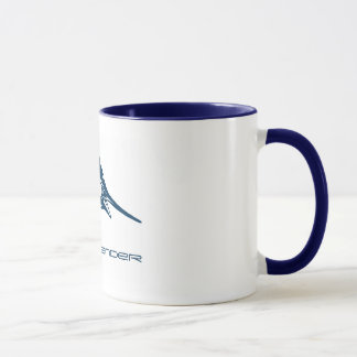 Custom Sport Fishing | Jumping Blue Swordfish Mug