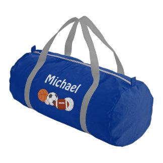 CUSTOM Sports Duffle Bag GIFT PERSONALIZED