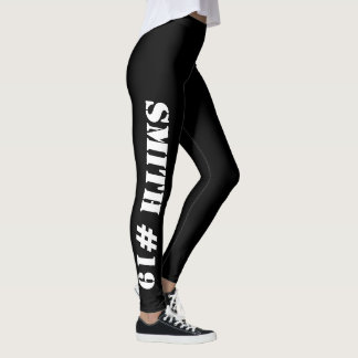 Custom Sports Leggings (both legs)