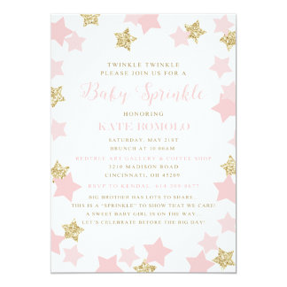 Custom Sprinkle Invitation for Kendal