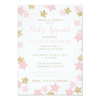 Custom Sprinkle Invitation for Mary