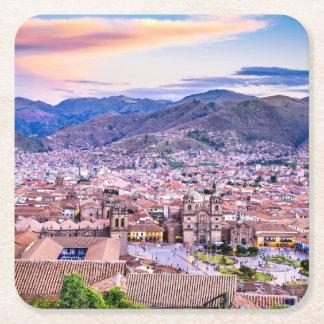 Custom Square Coasters Cusco