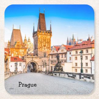 Custom Square Coasters Prague