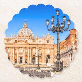 Custom Square Coasters Vatican
