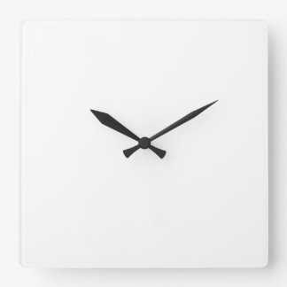 Custom Square Wall Clock