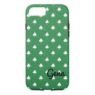 Custom St Patrick's Shamrock iPhone Case