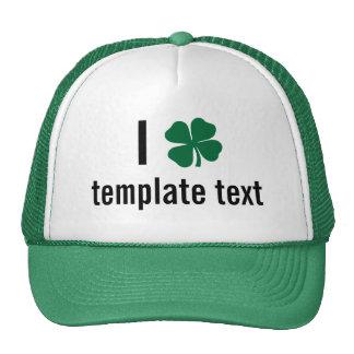 Custom St. Patricks Day Hat