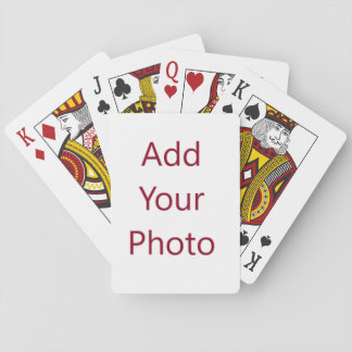Custom Standard Siize Poker Playing Deck of Cards