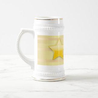Custom Star Heart 15 oz Ringer Coffee Mug ZAZZ_IT