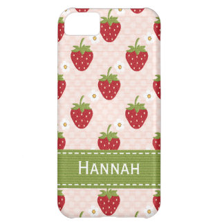 Custom Strawberry iPhone 5C Cases