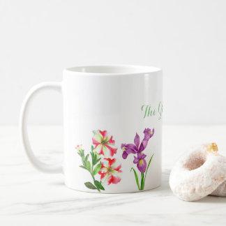 Custom Summer Flowers Collection Mug